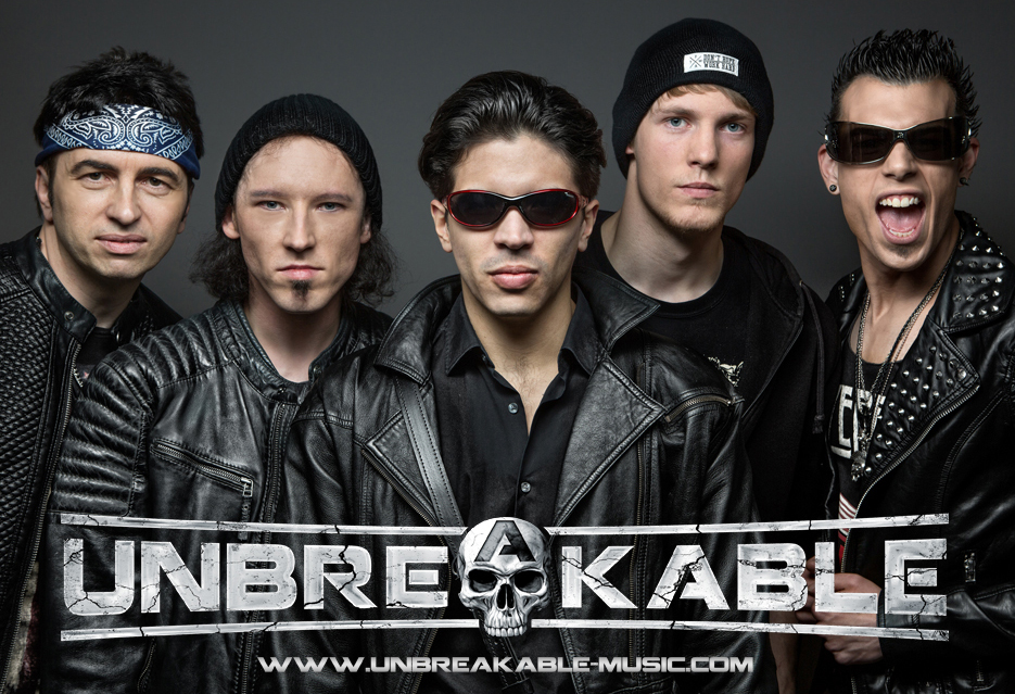 the german hard rock band unbreakable inks deal with west coast merch and celebrity swag west. Black Bedroom Furniture Sets. Home Design Ideas